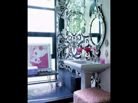 Creative Bathroom color interior design