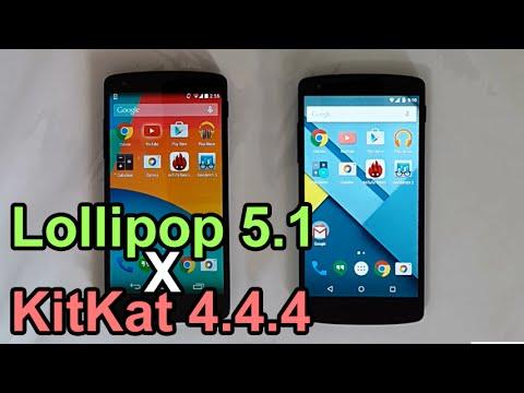 Android Lollipop 5.1 vs KitKat 4.4.4 - Performance Comparison (Nexus 5)