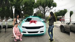 SURPRISED MOM WITH NEW CAR FOR MOTHERS DAY **EMOTIONAL**