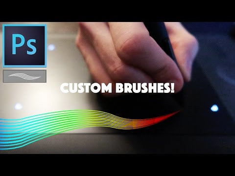 How to Create Custom Brushes from Scratch in Photoshop CC Tutorial