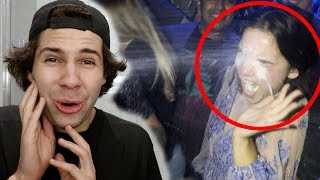 HE THREW HIS DRINK AT HER!!