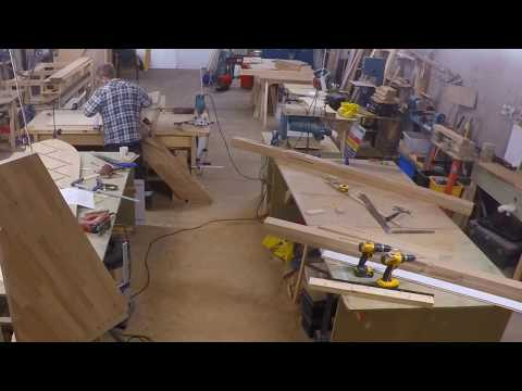 Making an Oak winding Staircase without a CNC