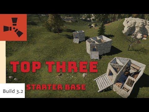 Top Starter Bases I Rust Base Design I Building 3.2