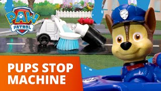Out of Control Street Sweeper! 🚛 PAW Patrol Toy Pretend Play Rescue
