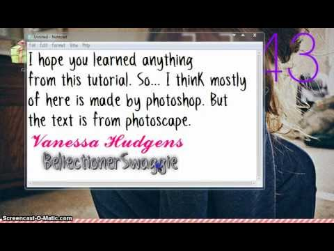 How To Make Watermark Using Photoscape {Part 2}
