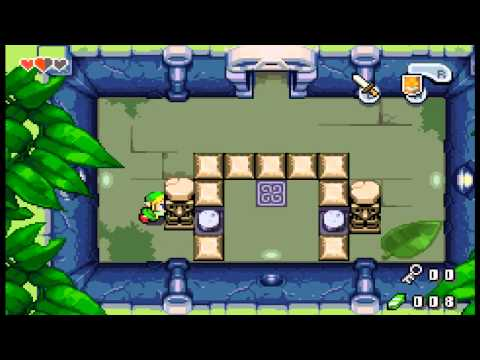 Let's Try The Legend of Zelda: Minish Cap Part 6 - The Small Key