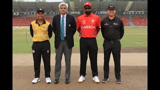 ICC CWC Challenge League Group A | Match 4 | Canada v Malaysia | Full match highlights