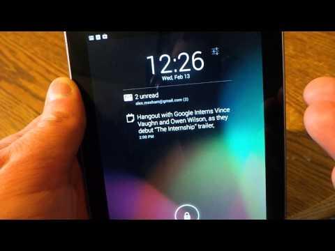 Quick Look: DashClock Lock Screen Widget