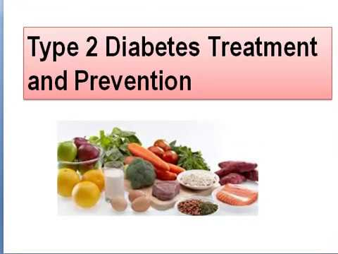 Type 2 Diabetes Treatment and Prevention