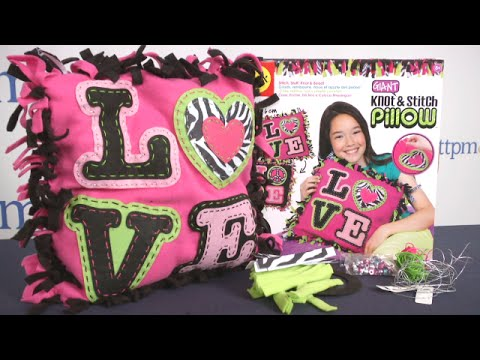 Giant Knot & Stitch Pillow from Alex Toys