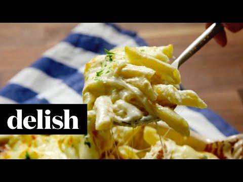 Chicken Alfredo Bake | Delish