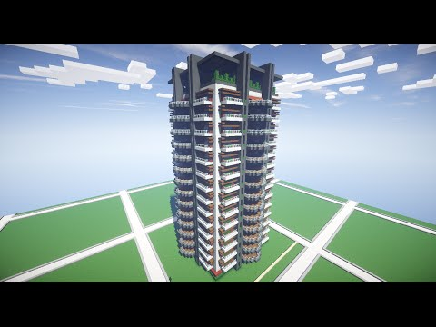How to Build an Apartment Complex in Minecraft - Part 2