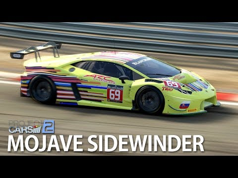 HURACAN GT3 RACE AT MOJAVE SIDEWINDER   PROJECT CARS 2