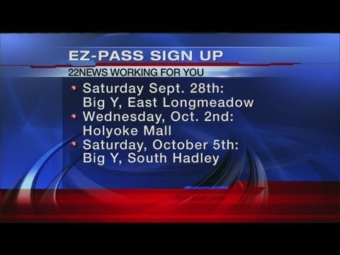MassDOT is offering E-ZPass sign up sessions