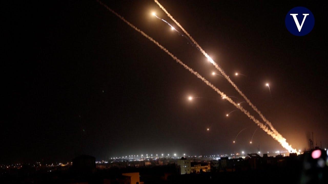 Hamas lanza cientos de misiles contra Israel