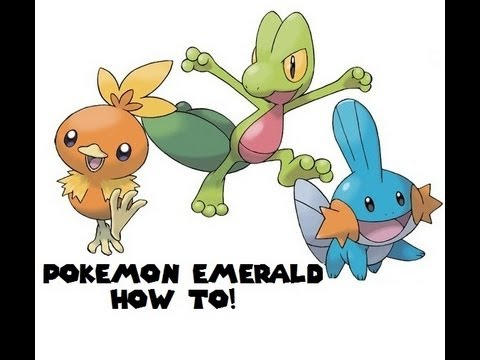Pokemon Emerald - How To Get HM:07 WATERFALL