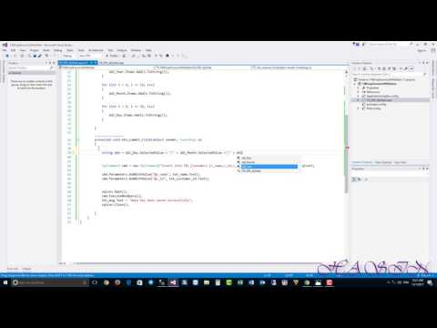 How to Save Date From Dropdownlist ? in ASP.NET Using C# With Sql Server