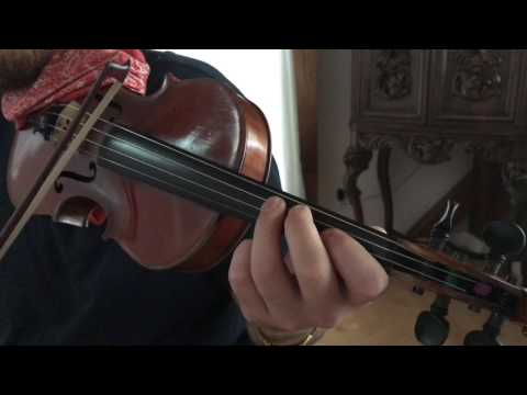 How to play Amazing Grace on Violin - Beginners Tutorial