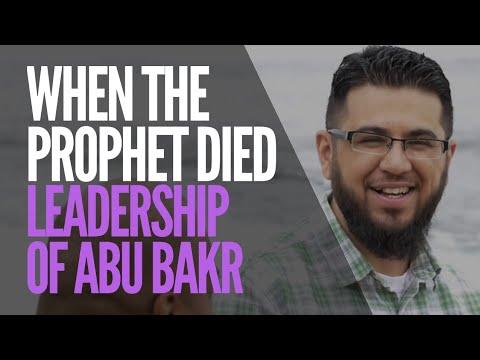 When Prophet Muhammad Died: Witness the Leadership of Abu Bakr | Hasib Noor | AlMaghrib Institute