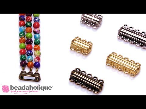 Show & Tell: Magnetic Clasps featuring Multi Strand Styles