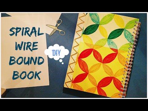 DIY | Spiral Wire Bound Book