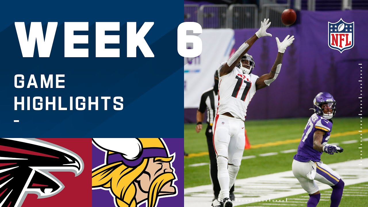 Falcons vs. Vikings Week 6 Highlights | NFL 2020