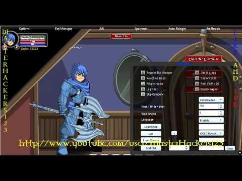 AQWorlds - Blinding Light Of Destiny handle Hack