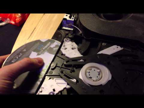 PS3 - Disc won't spin after thorough laser cleaning