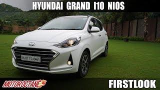 2019 Hyundai Grand i10 Nios First Look | Hindi | Walkaround | MotorOctane