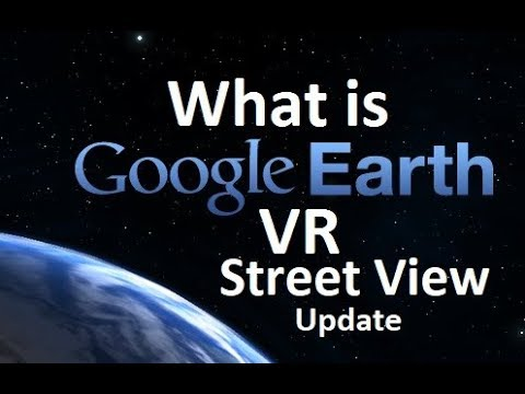 Google Earth VR Street view update!