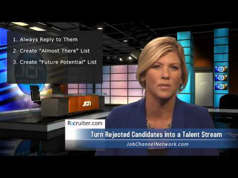 How to Turn Rejected Candidates into a Talent Stream
