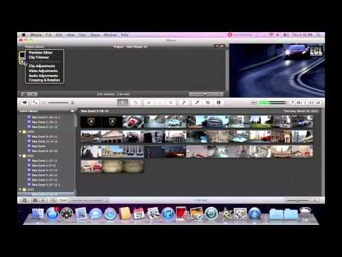 Basic imovie'09 editing - Slow Motion
