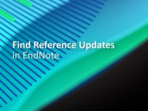 Find Reference Updates