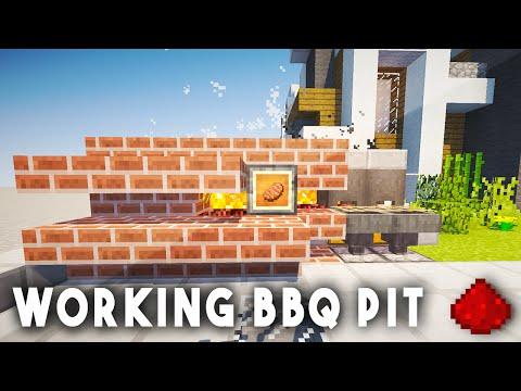 REDSTONE BBQ GRILL - Minecraft Redstone Tutorial (Xbox One, 360, Wii U, PS3, PS4)
