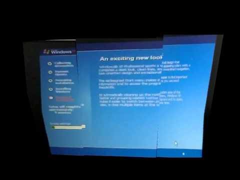 Toshiba Tecra A3 Win XP Installation