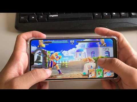Test Game Tekken Mobile in OPPO F7