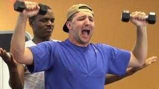 Screaming In The Gym Ft Bigdawstv