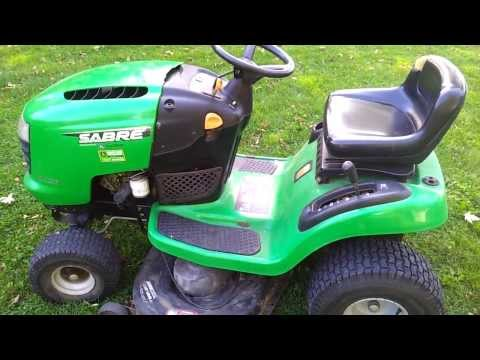 17.5 HP Sabre Lawnmower 42 inch deck