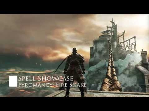 Spell Showcase: Fire Snake l Dark Souls II