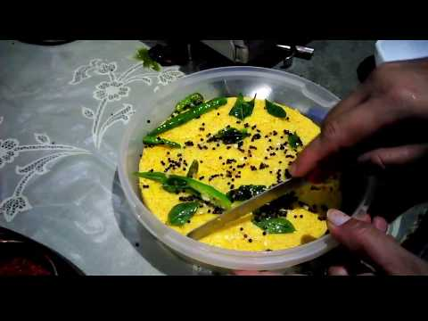 Instant microwave Dhokla