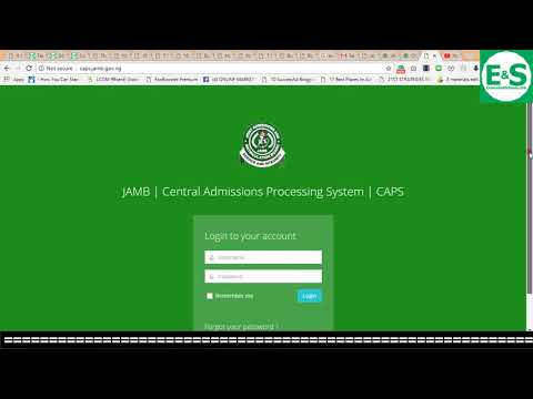 HOW TO CHECK YOUR ADMISSION STATUS ON JAMB WEBSITE (CAPS)