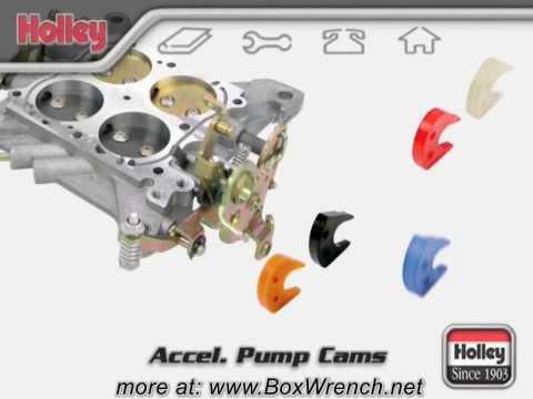 Carburetor Accellerator Pump Cams Video - Holley  Carb DVD