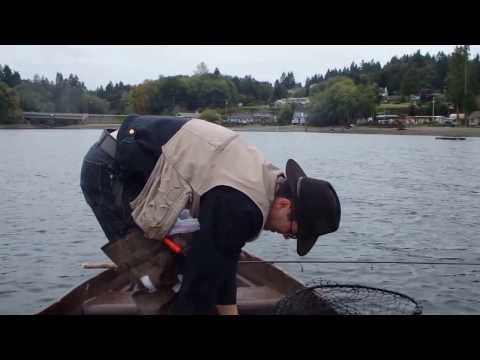 Puget sound salmon fishing: Death by inhalation