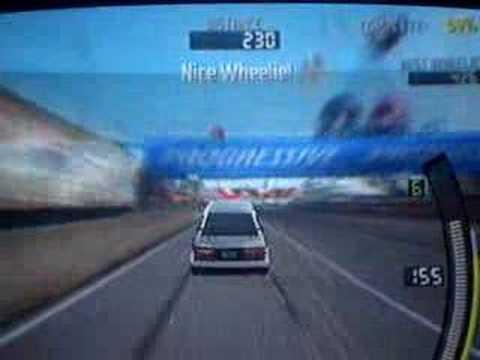 Need for Speed: Pro Street - Wheelie (ps2)
