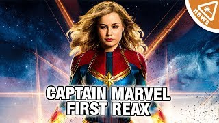 First Spoiler-Free Reactions to Captain Marvel! (Nerdist News w/ Jessica Chobot)