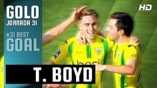 Golo da Jornada (Liga 31ª J): Tyler Boyd (Tondela)