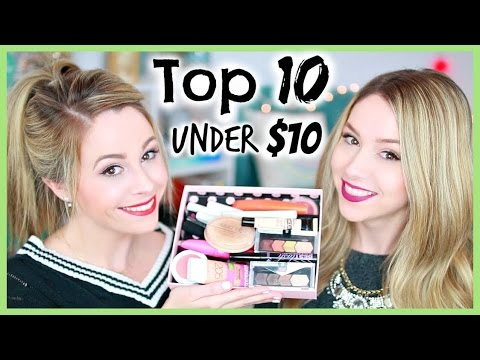 Top 10 Under $10   Drugstore Beauty Products