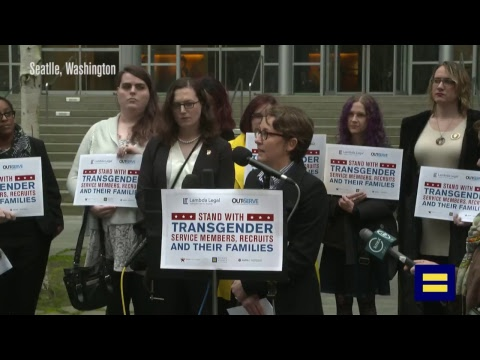 WATCH LIVE: HRC Challenges Transgender Military Ban in Court