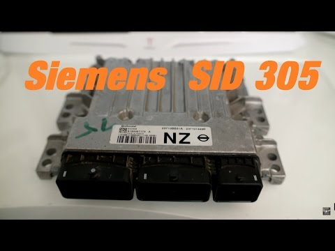 SIemens Sid 305 ECU Opening and reading via Ktag boot mode