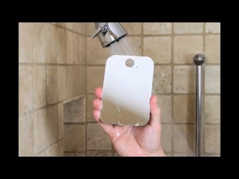 The Shave Well Company fog free shower mirror